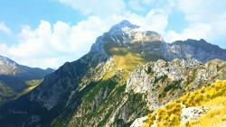 Altalena al Monte Forato Alpi Apuane