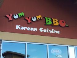 Yum Yum BBQ Korean cuisine