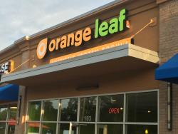 ‪Orange Leaf Frozen Yogurt‬