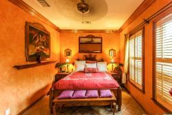 Queen Bed Interior Beach Villa