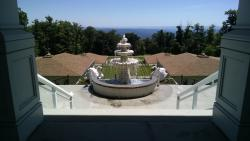 View from meditaition hall