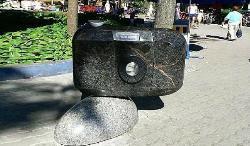 Sculpture Camera-Soapbox