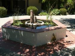 Inner Courtyard Fountain -Santa Ynez Valley Historical Museum