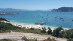 Barco Islas Cies - Cruceros Rias Baixas