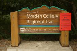 ‪Morden Colliery Historic Provincial Park‬