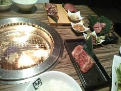 Charcoal fire grilled meat tavern Gyukaku Hep Navio
