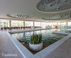 The Indoor Pool at the Terme Venezia Hotel