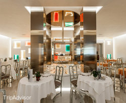 Restaurant at the Terme Venezia Hotel
