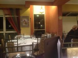 Inside Maroush Restaurant