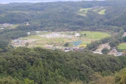 日和田山から見た巾着田