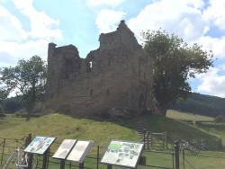 Hopton Castle Ruin