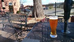 relaxing summer evening at Brewery Becker