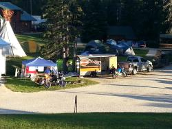 Our site at this campground was awesome!