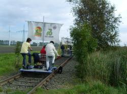 Marschenbahn-Draisine