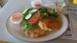 lobster crab potato cake