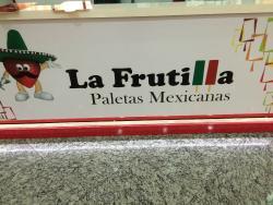 La Frutilla Paletas Recheadas