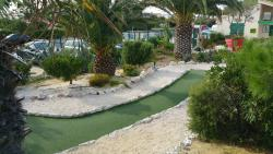 Le Golden Beach mini golf
