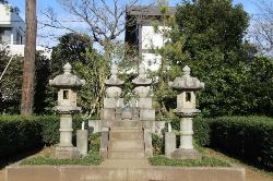 Katsu Kaishu's Grave