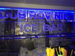 Onofrio Ice Bar Dubrovnik