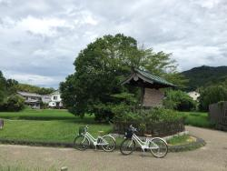 The Legendary Site of Asuka Itabuki Miya