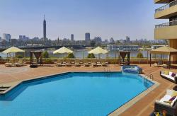 Outdoor Pool Overlooking the Nile