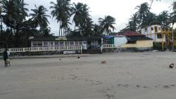 Reastaurent is on beach