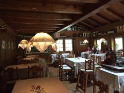 Un ristorante di sogno in un luogo incsntevole
