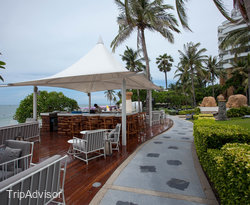 Hallways at the Hilton Hua Hin Resort & Spa