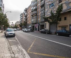 Street at the Sercotel Málaga
