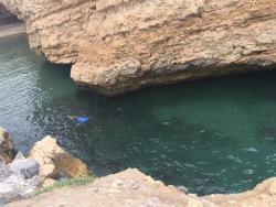 Al Husn Private beach snorkeking
