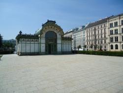 Cafe im Otto-Wagner-Pavillon