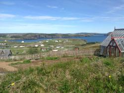 View of Port Rexton from hotel