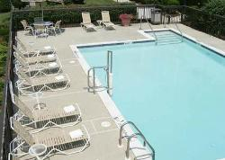 Large Outdoor Hotel Swimming Pool