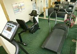 Enjoy our 24 Hour Fitness Room