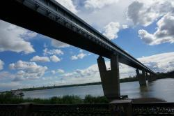 Novosibirsk Metro Bridge