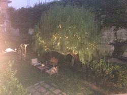 Camera delux vista giardino, guardino esterno e cenetta intima relax
