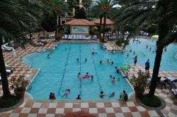 The main pool is enormous