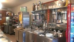 Diner kitchen area