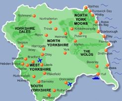 Stay at Riverside Lodges to visit Moors and Yorkshire Dales