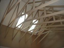 Open Trusswork in Hemlock Suite