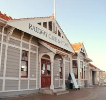 Blenheim Railway Cafe & Ice Creamery