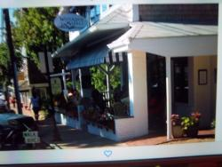 Wonderful covered wrap around patio... cool breeze, shade...  I could've sat there all day