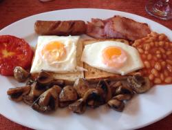 Fantastic English breakfast