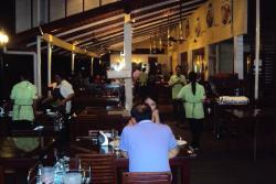 Thais crowd the Vietnamese restaurant