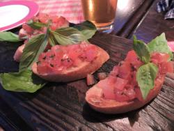 Gosti - Bruschetta with tomatoes