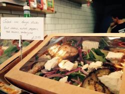Best pizza in Edinburgh & wonderful salads too