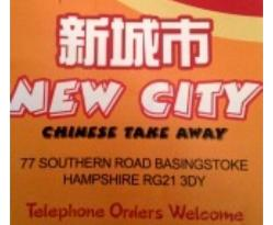 ‪New City Chinese Takeaway‬