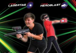 Thrillzone – 360° Battleground Lasertag & Heroblast