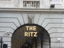 next door to the Ritz hotel