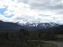 cairngorms, still skiing